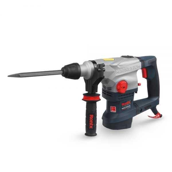 1250W 220V 50Hz 800rpm Industrial Rotary Hammer Drill Machine Ronix Brand 2732
