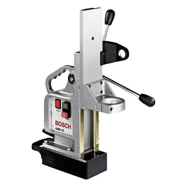 95W 25KN Magnetic Base Drill Stand Operating Height Bosch Brand