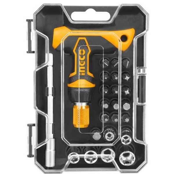 T-Handle Wrench Screwdriver Set Ingco Brand HKSDB0188