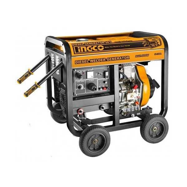 220-240V Diesel Generator &Welding machine Ingco Brand GDW65001
