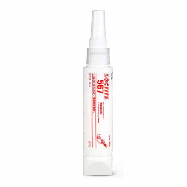 High Temperature Resistant Metal Pipe Thread Locking Glue Loctite 567 - 50ml