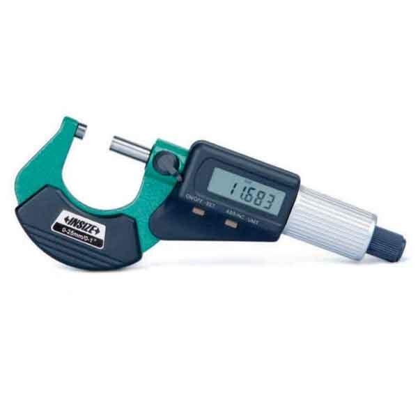 3109-25A INSIZE Range 25mm Digital Outside Micrometer CNC Measuring Tools
