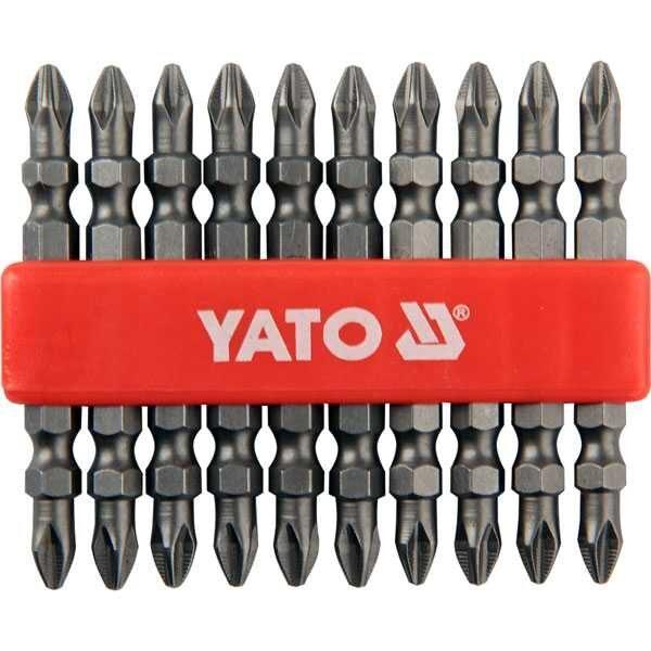 10 pcs PH2 X 65mm Double Head Screwdriver Bits Yato Brand YT-0481