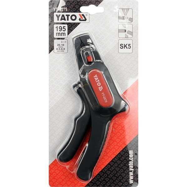 195mm Automatic Wire Stripper Yato Brand YT-2275