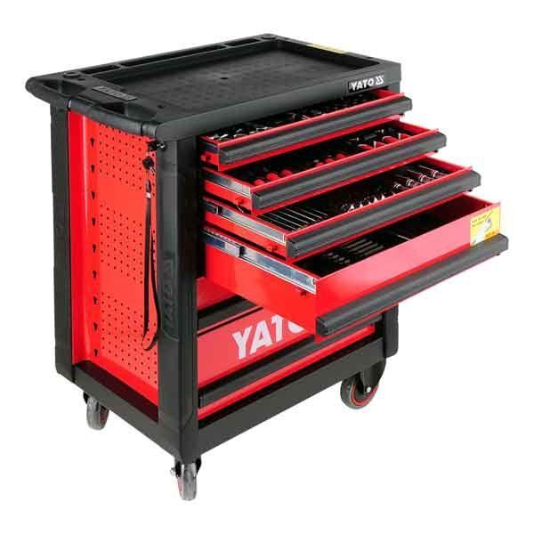 6 Drawers Roller Cabinet with 177pcs Tools Yato Brand YT-5530