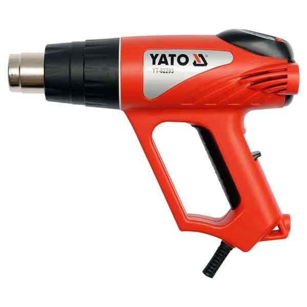 2000W Digital Hot Air Gun with 6 Pcs Accessories Yato Brand 82293